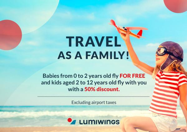 TRAVEL AS A FAMILY AT A DISCOUNT PRICE
